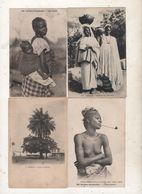 Lot De 4 Cpa Du Sénégal - Senegal