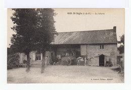 Saint Séglin. Ile Et Vilaine. La Laiterie. Avec Attelage. (2675) - Elevage