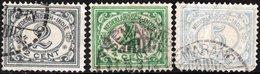 """INDIE OLANDESI, NETHERLANDS INDIES, NUMERALS, TIPO """"VURTHEIM"""" 1922-1930,  USATI Michel 156,158  Scott 104,110,113 - Indes Néerlandaises"""