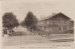 Vesoul - Entrée Du Boulevard De Besançon - Vesoul
