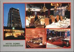 72407373 Ceske Budejovice Hotel Gomel Gastraum Bar Ceske Budejovice - Schneeberg