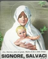 "Autocollant ""Signore, Salvaci"" - 10 X 8 - Images Religieuses"