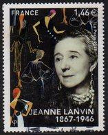 5170 - Jeanne Lanvin - Oblitéré (cachet Rond) - Année 2017 - Gebruikt