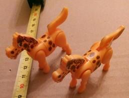 2 CHEVAL/HORSES - Figurines