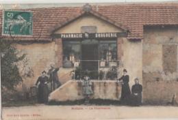 MOLLANS        LA PHARMACIE.     COLORISEE - Autres Communes