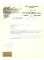 Facture - Fabrique De Fleurs Et Feuillages VAN WASSENHOVEN Frères à BRUGGE / BRUGES  En 1969 (b209) - Belgique
