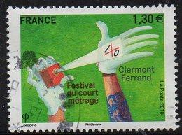N° ??- Festival Du Court Métrage De Clermont-Ferrand -oblitéré (cachet Rond) -  Année 2018 - Gebruikt