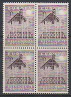 Europa Cept 1957 Belgium 2Fr Bl Of 4 ** Mnh (38328H) - Europa-CEPT