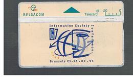 BELGIO (BELGIUM) -  1995 G7,BRUXELLES                         - USED - RIF. 10831 - Belgium