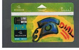BELGIO (BELGIUM) -  1995 ONLINE WITH ROCK                         - USED - RIF. 10832 - Belgium