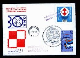 A5397) Polen Poland Brief Ballonpost 31.8.80 - Briefe U. Dokumente