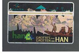 BELGIO (BELGIUM) -  1995  HAN CAVES                     - USED - RIF. 10832 - Belgium