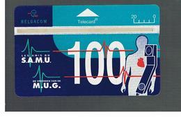BELGIO (BELGIUM) -  1995   S.A.M..U. - M.U.G.                   - USED - RIF. 10833 - Belgium