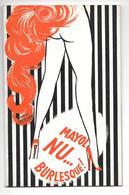 Livret Programme Music Hall Mayol Nu Burlesque Publicités Et Photos - Programmi