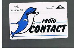 BELGIO (BELGIUM) -  1996  RADIO CONTACT, DELPHIN                - USED - RIF. 10835 - Dolphins