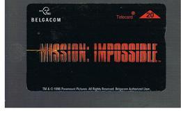 BELGIO (BELGIUM) -  1996  CINEMA: MISSION IMPOSSIBLE              - USED - RIF. 10835 - Belgium