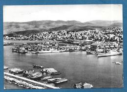 LIBAN LEBANON BEYROUTH LA VILLE ET LE PORT 1961 - Lebanon
