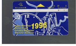 BELGIO (BELGIUM) -  1996  HAPPY NEW YEAR              - USED - RIF. 10835 - Belgium