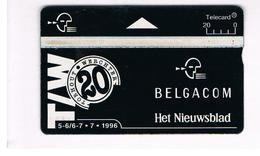 BELGIO (BELGIUM) -  1996  T.W.             - USED - RIF. 10836 - Belgium