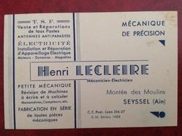 TSF Électricité Lecleire Seyssel - Publicités