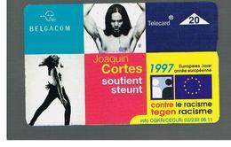 BELGIO (BELGIUM) -  1997 EUROPEAN YEAR AGAINST RACISM     - USED - RIF. 10837 - Belgium
