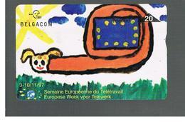 BELGIO (BELGIUM) -  1997 EUROPEAN WEEK OF TELEWORK     - USED - RIF. 10837 - Belgium