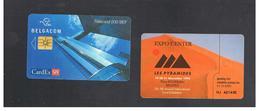 BELGIO (BELGIUM) -  1998 CARDEX '98, LES PYRAMIDES   - USED - RIF. 10838 - Belgium