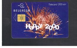 BELGIO (BELGIUM) -  2000 HAPPY NEW YEAR   - USED - RIF. 10838 - Belgium