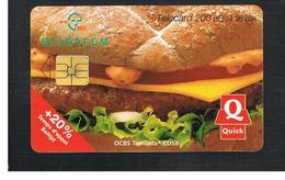 BELGIO (BELGIUM) -  2000 QUICK, FOOD   - USED - RIF. 10838 - Belgium