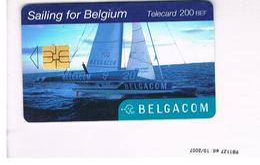 BELGIO (BELGIUM) -  2001 SAILING TEAM   - USED - RIF. 10839 - Belgium