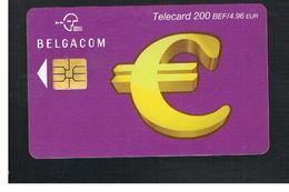 BELGIO (BELGIUM) -  2002   EURO CARD    - USED - RIF. 10841 - Belgium
