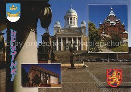 72455653 Helsinki Reichstagsgebaeude Uspenski Kathedrale Dom Helsinki - Finland