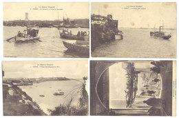12 CPA Maroc, Salé / Rabat - Rues, Oued, Port ... - Maroc