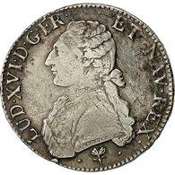 Monnaie, France, Louis XVI, Écu Aux Branches D'olivier, Ecu, 1787, Bayonne, TB - 1774-1791 Louis XVI
