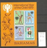 Bahamas, Année 1979, Année Internationale De L'enfance - Bahamas (1973-...)