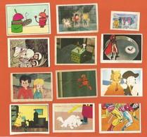 Lot De Vignettes Images Autocollantes ALBATOR - SUPER HEROS - Liste Détaillée - Chromos