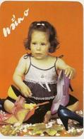 Calendars Hungary - 1985 - Girl - Child - Shoes - Advertising - Calendars