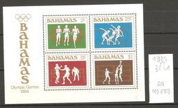 Bahamas, Année 1984, Sports - Bahamas (1973-...)