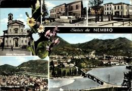 Cp Nembro Lombardei, Monumento Ai Caduti, Chiesa Parrocchiale, Villaggio Nata - Italy