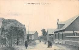 02- AISNE / 023737 - Saint Simon - Rue D' Avesnes - France
