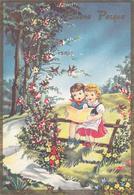 FESTE - Buona Pasqua - Happy Easter - Feliz Pascua - Joyeuses Pâques - Frohe Ostern - Coppia Di Bambini - 1968 - Pasqua