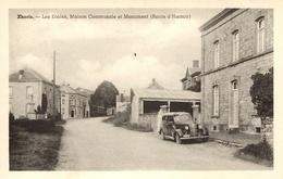 Xhoris  (Ferrieres). Les écoles, Maison Communale Et Monuments (Route D'Hamoir). - Ferrières