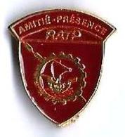 RATP - R15 - AMITIE - PRESENCE - Verso : SM - Transportes