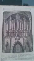 Affiche (gravure) - L'orgue De L'église De SAINT DENIS - Affiches