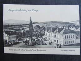 AK LANGENLOIS HAINDORF Am Kamp B. Krems Ca.1915///  D*31239 - Langenlois