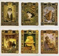 Calendars Russia - A Set Of 12 Pcs. - 2017 - Zodiacs - Cats - Ornament - Beautiful - Rare - Calendars