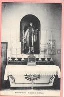 Saint Fiacre -   L'Autel De St Fiacre (intérieur Eglise) - Francia