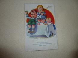 BELLE ILLUSTRATION JEUNES ENFANTS ......SIGNE LITTLE PITCHE.......BONNE ANNEE.. - Autres Illustrateurs