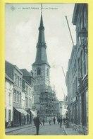 * Sint Truiden - Saint Trond (Limburg) * (SBP, Nr 13) Rue De Tirlemont, église, Church, Animée, Rare, Old, CPA, TOP - Sint-Truiden