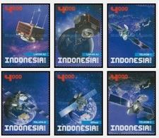 IHI - Indonesia MNH 6v 27.09.2016 Indonesia Satelite - Indonesia